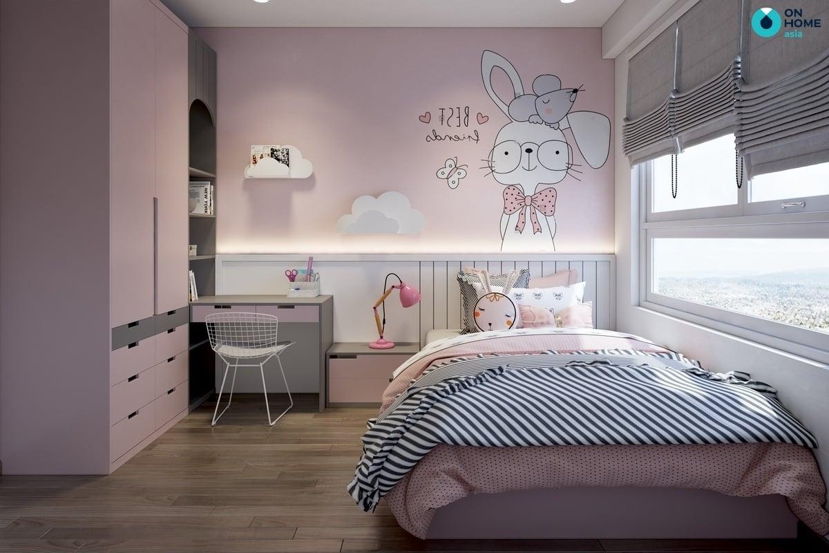 hình vẽ dễ thương trang trí phòng ngủ-1