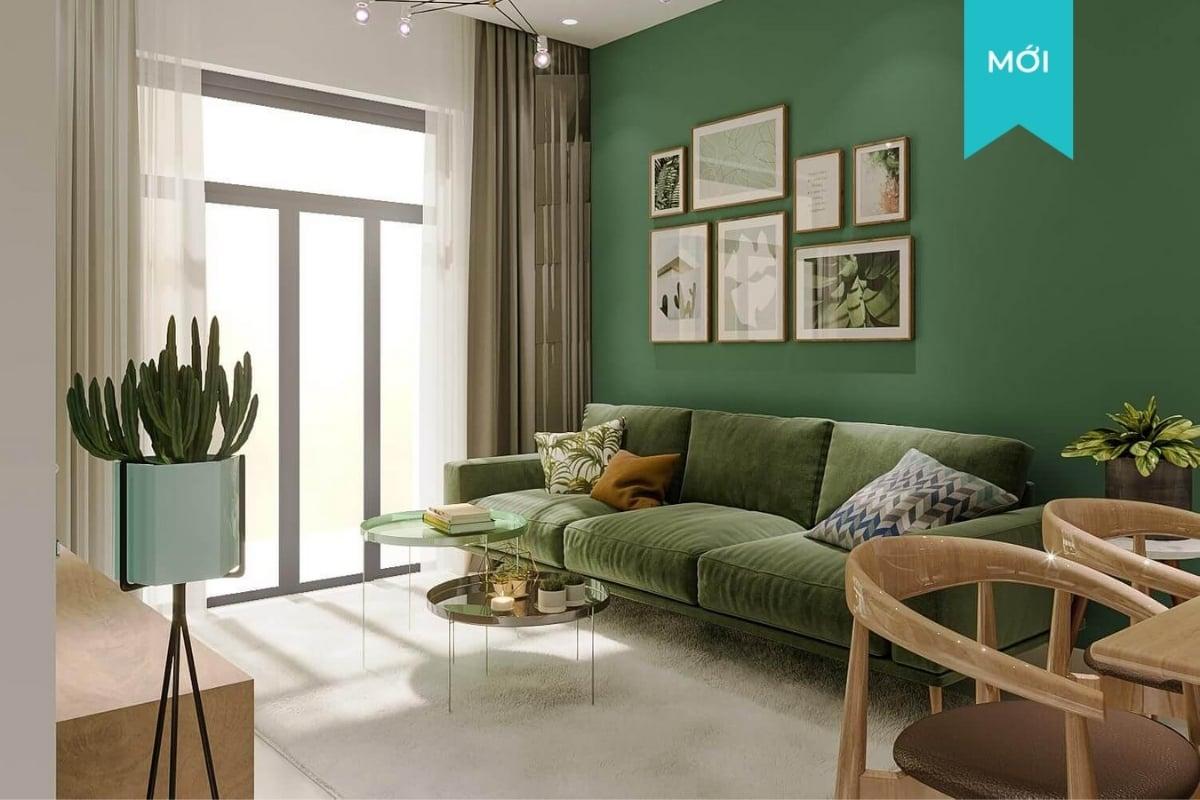 Thiết kế nội thất chung cư 2 phòng ngủ The View