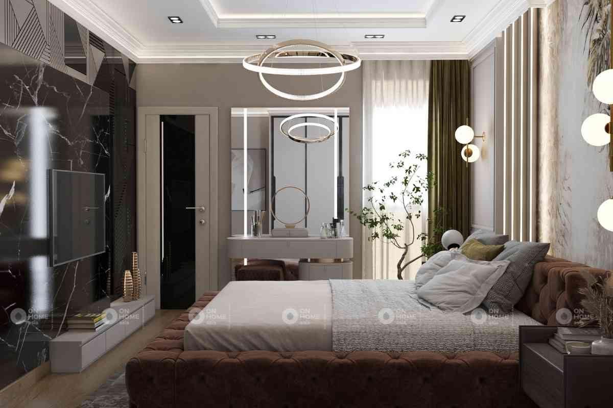Bố trí nội thất phòng ngủ đẹp tinh tế