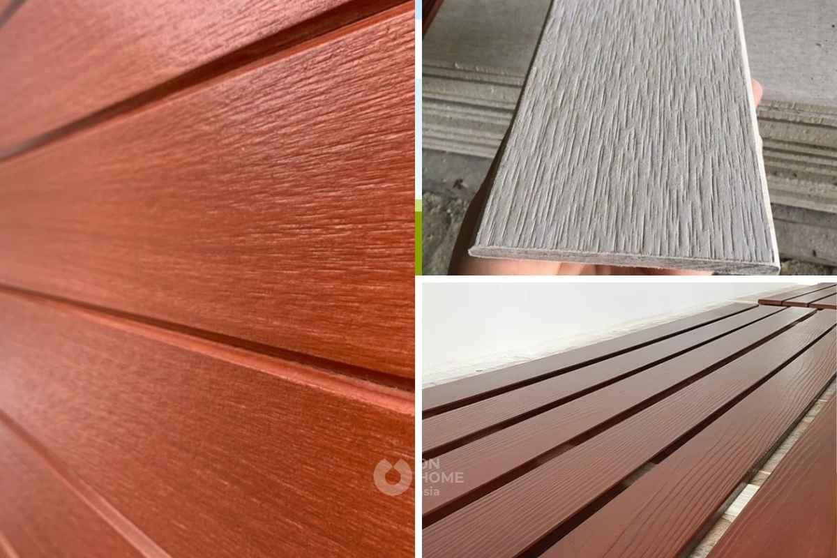 Gạch sợi gỗ dành cho nội thất nhà ở
