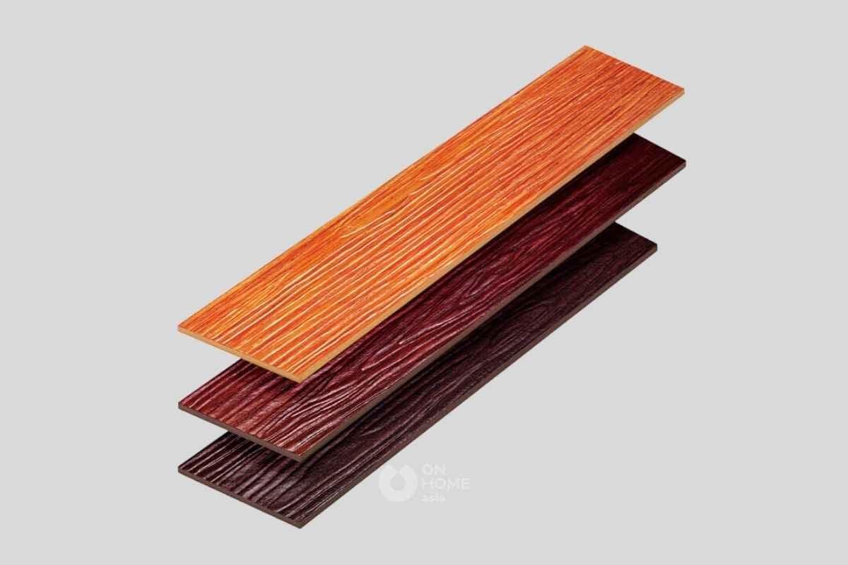 Gạch sợi gỗ thường được sử dụng rộng rãi