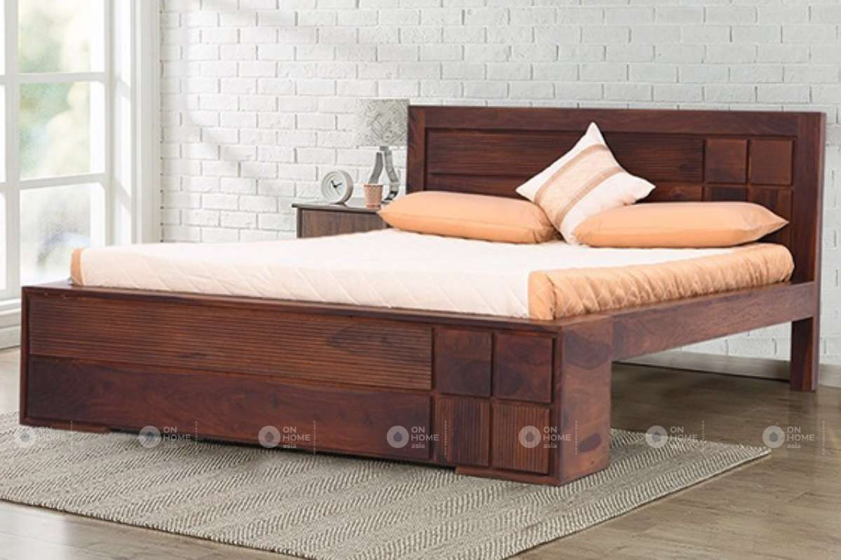 Giường ngũ gỗ tự nhiên