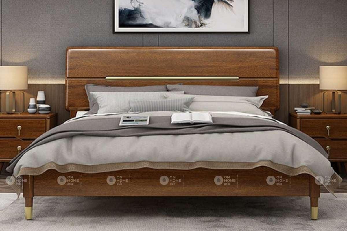 Giường ngủ làm từ loại gỗ tự nhiên