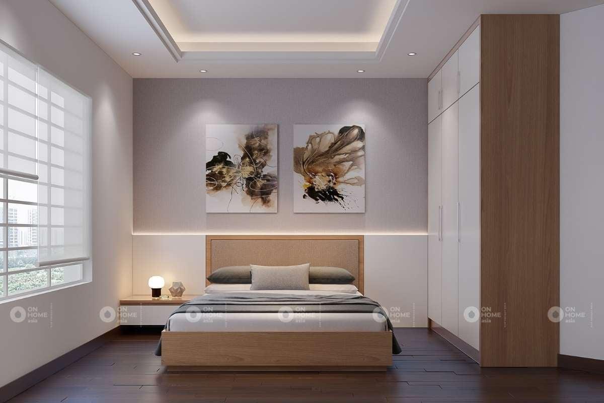 Mẫu giường ngủ đơn giản