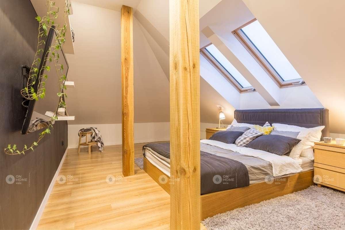Nội thất giường ngủ gỗ đẹp