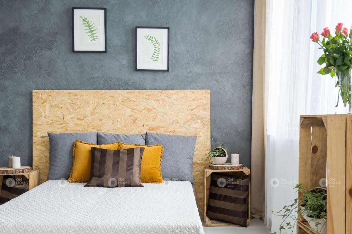 Thiết kế nội thất giường ngủ đẹp tinh tế