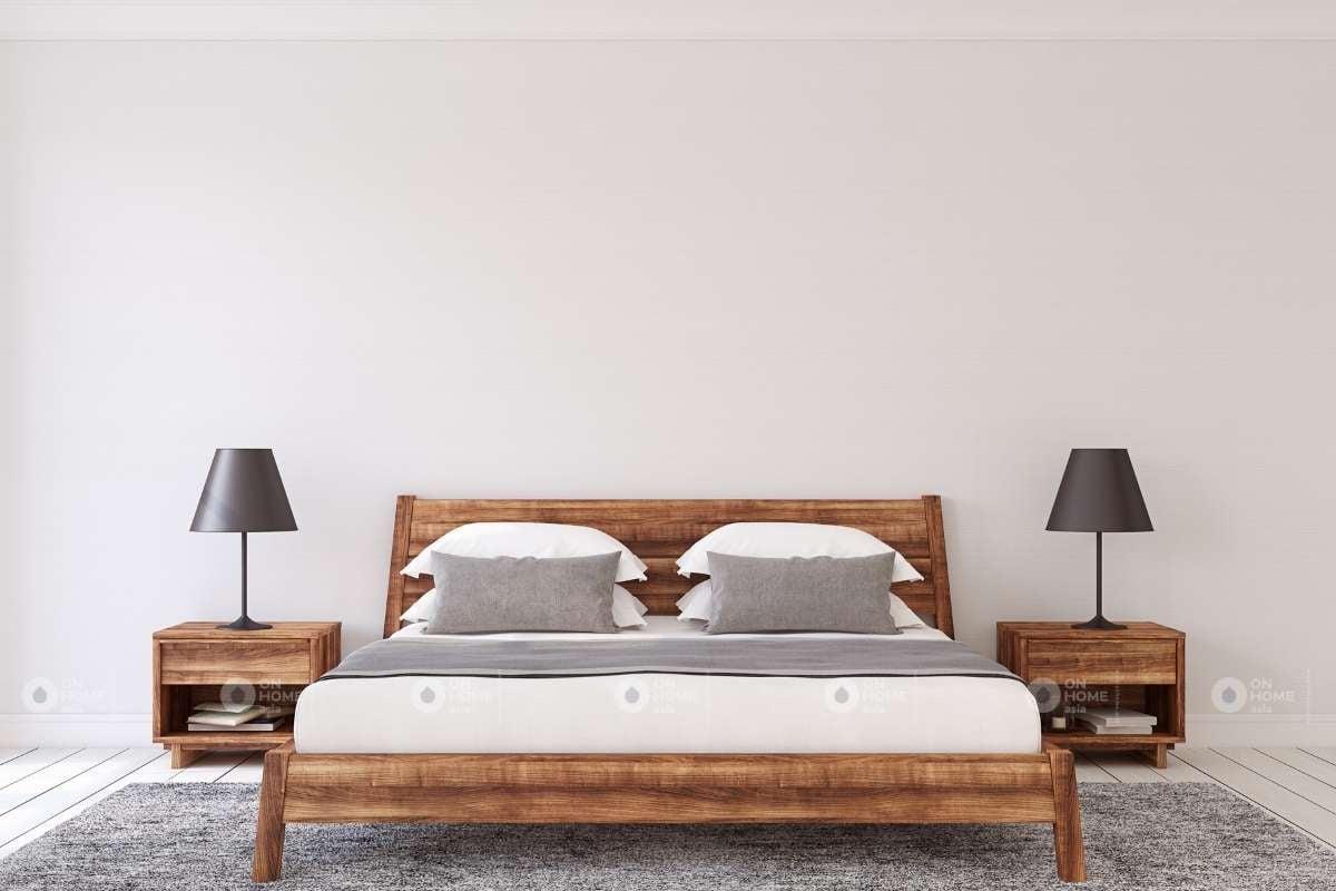 Tổng thể giường ngủ đẹp đơn giản