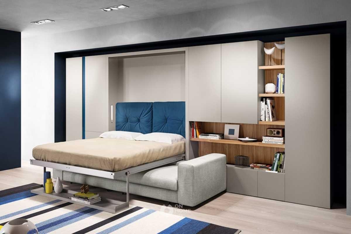 Giường gấp thông minh đẹp.