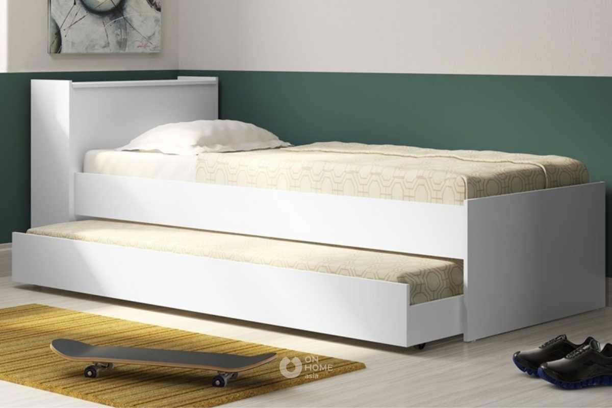 Mẫu giường ngủ thông minh với ngăn kéo đẹp.
