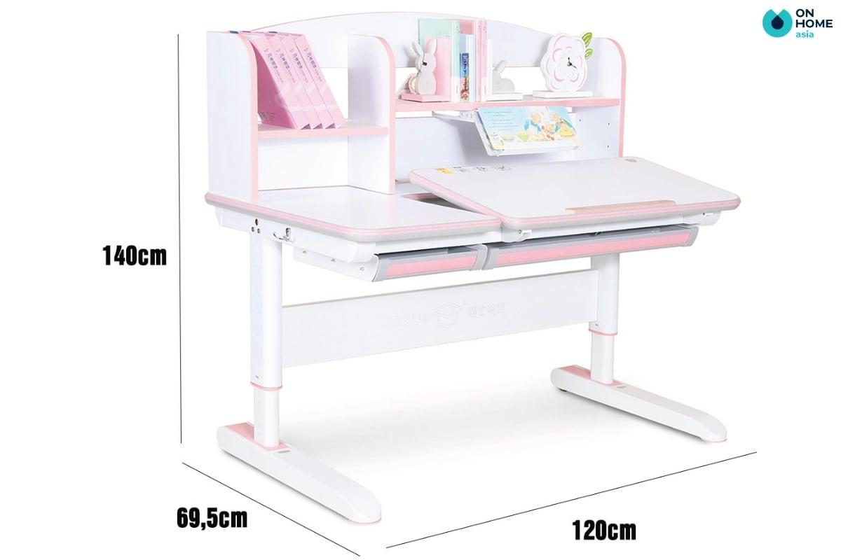 kích thước bàn học trẻ