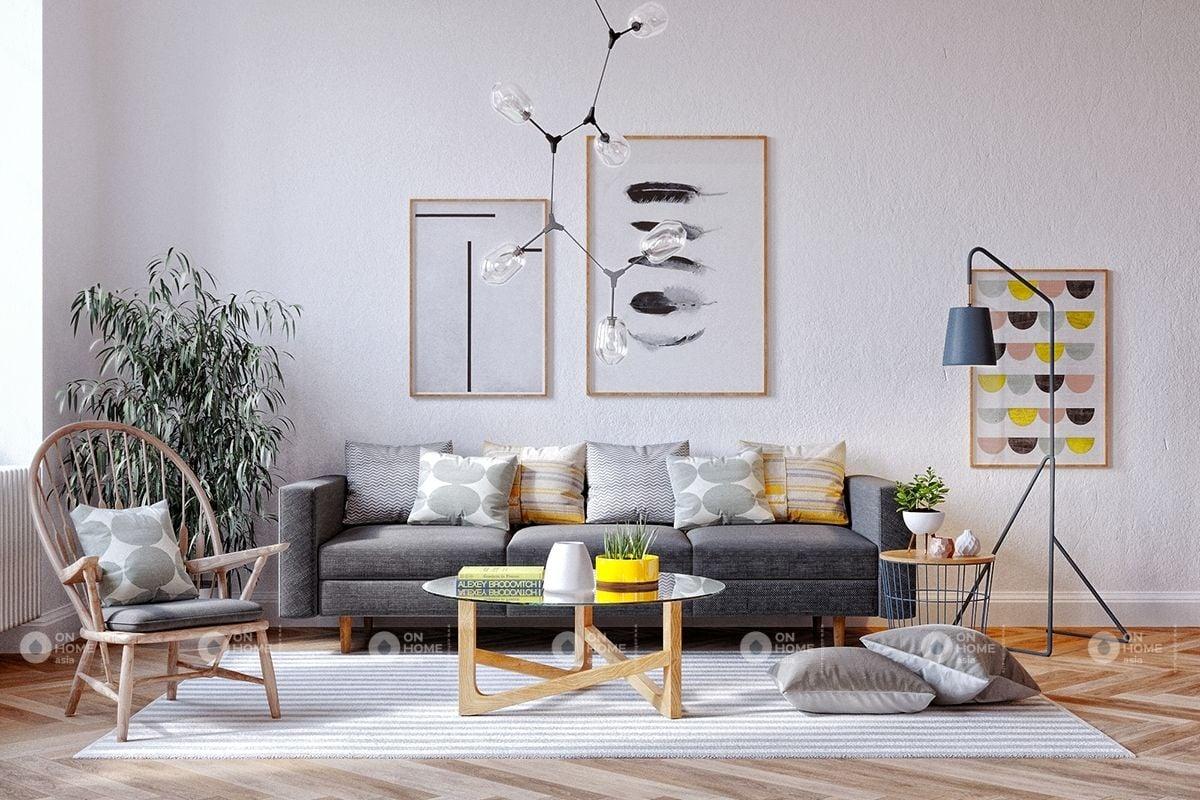 Cách bố trí phòng khách đẹp