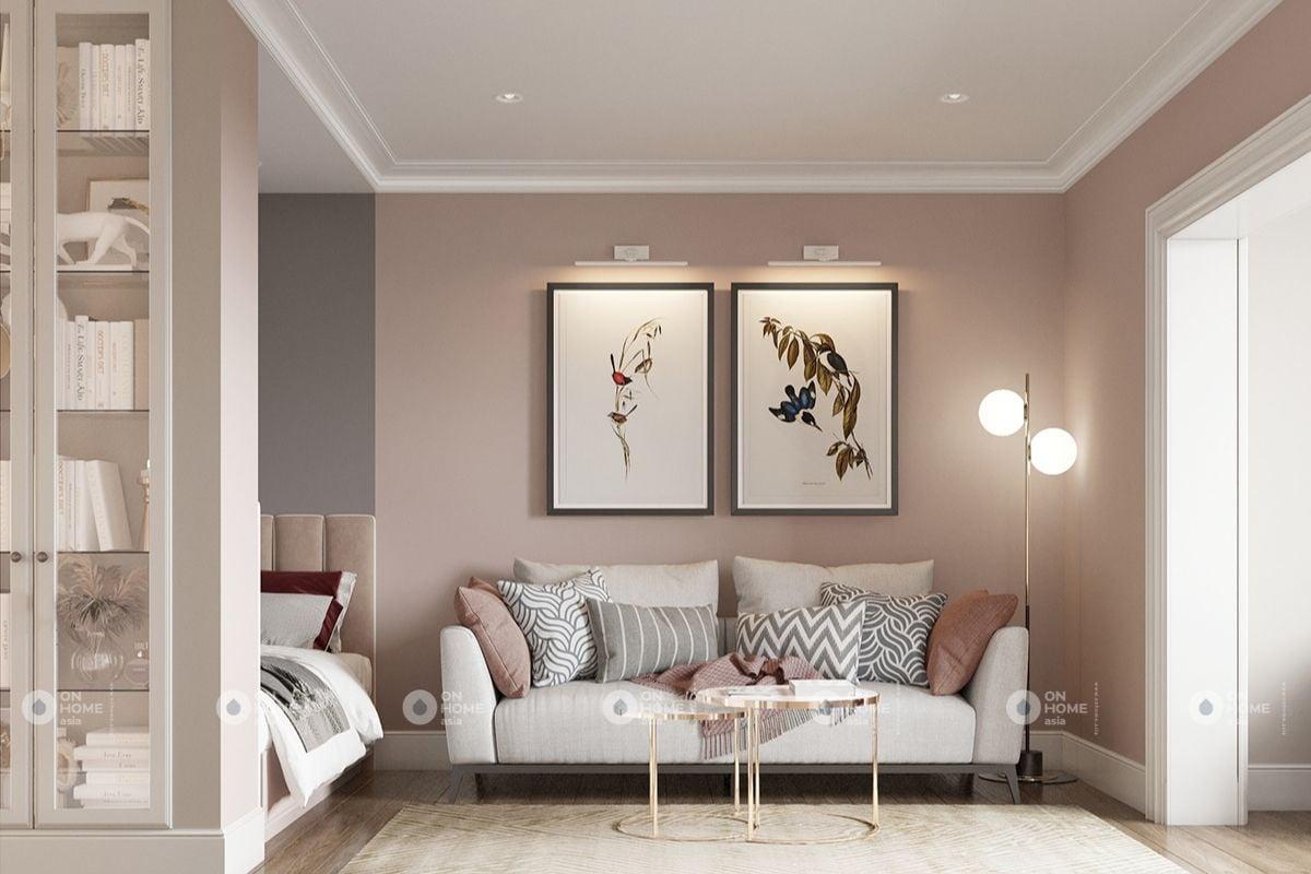 Bộ sofa phòng khách đơn giản