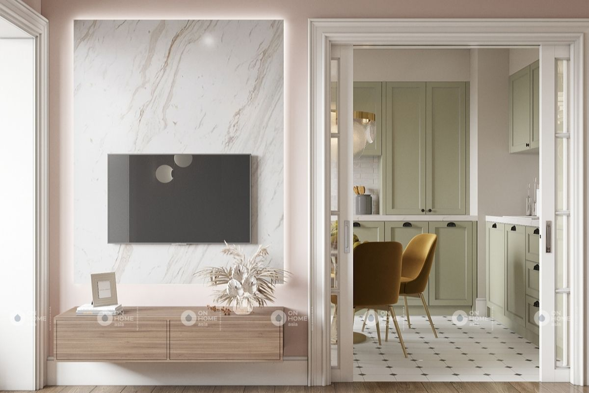 Phòng khách đơn giản tinh gọn các sản phẩm nội thất