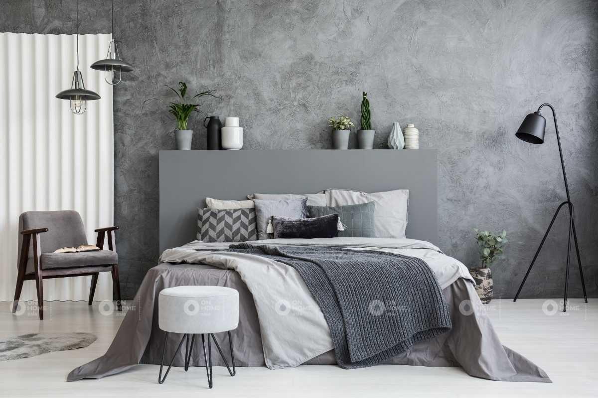 Màu sơn phòng ngủ phù hợp với người lớn tuổi