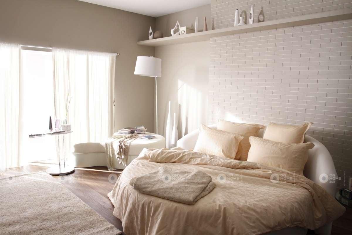 Màu sơn tường phòng ngủ màu be