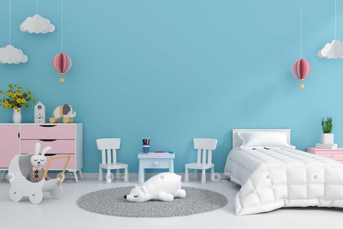 Phòng ngủ phù hợp với độ tuổi trẻ em