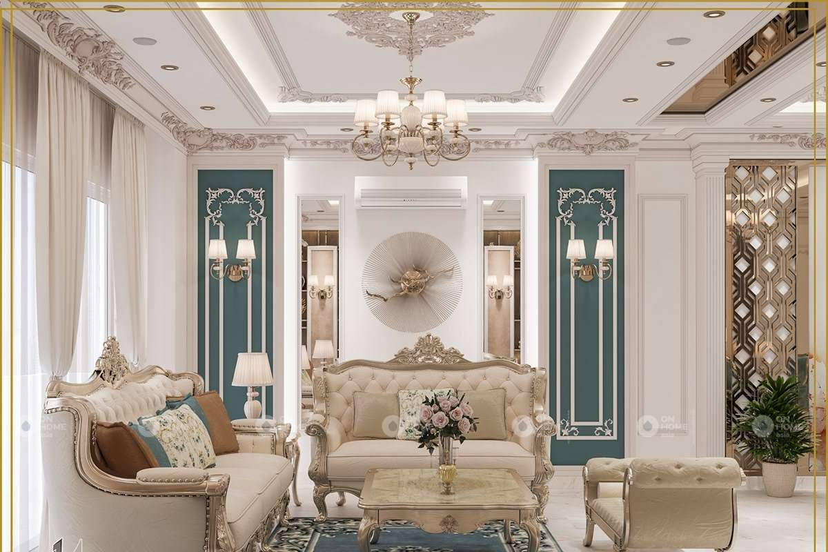 phong cách thiết kế nội thất chung cư 90m2
