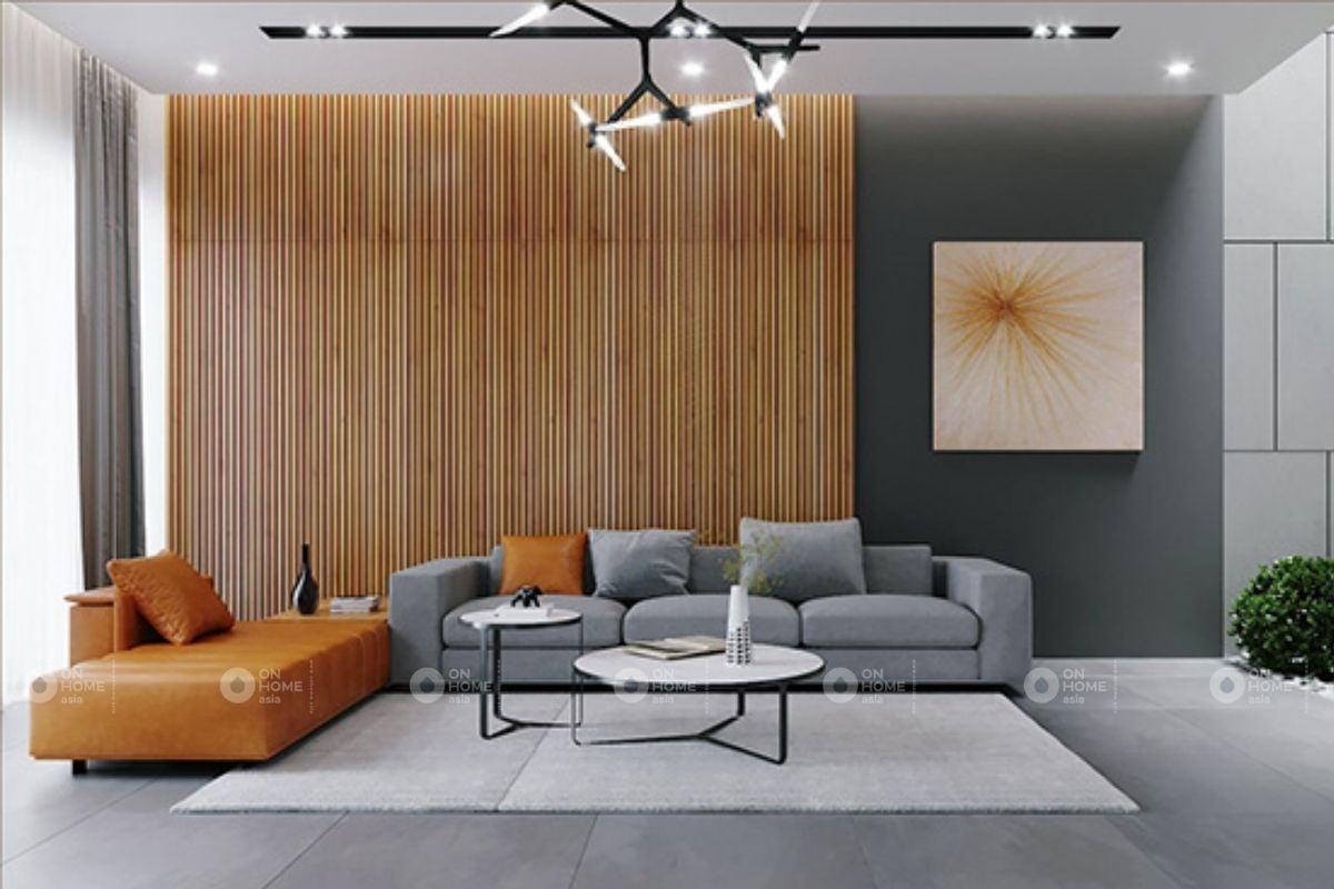 Sofa ấn tượng cho phòng khách nhà phố