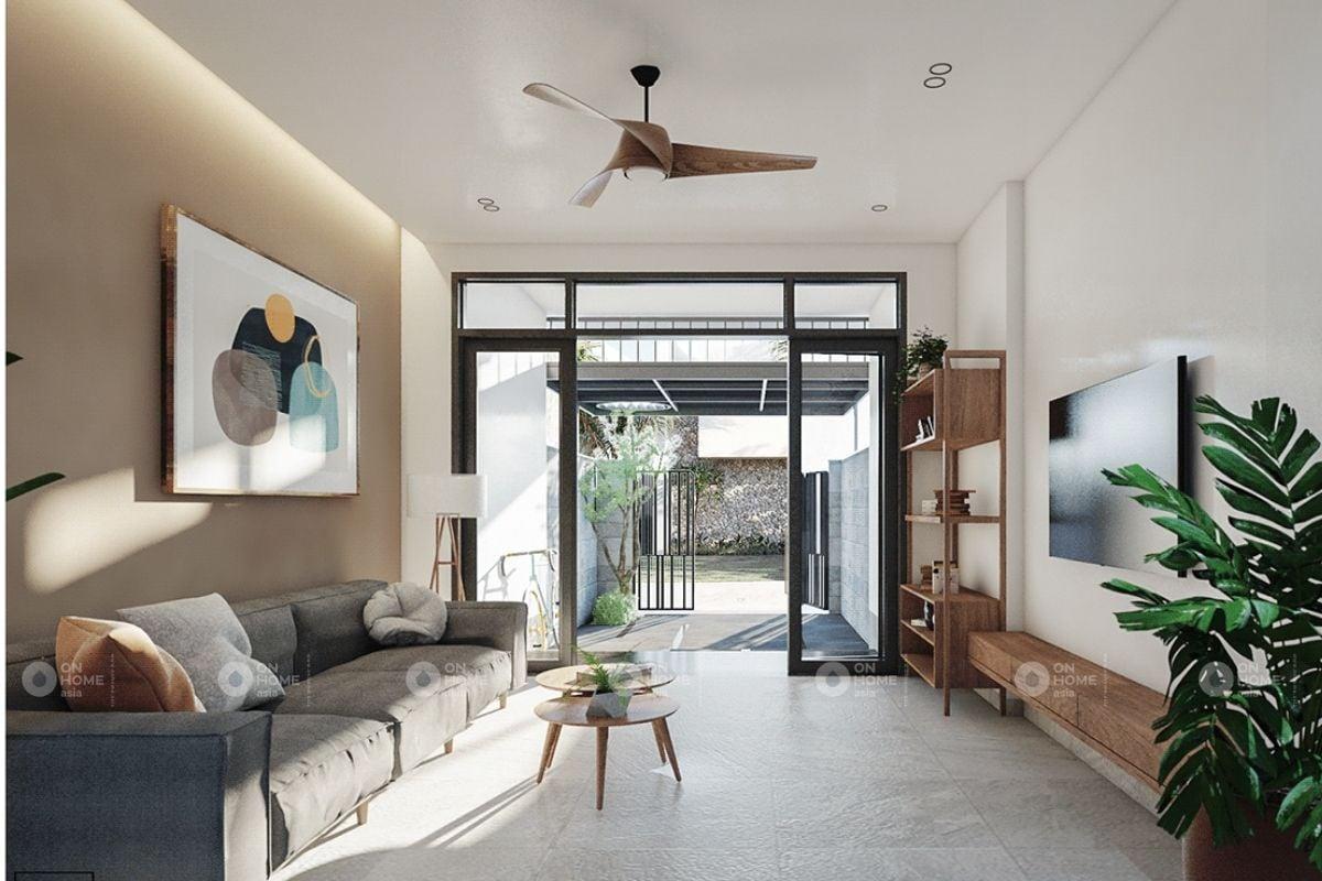 Nội thất tối giản dành cho phòng khách