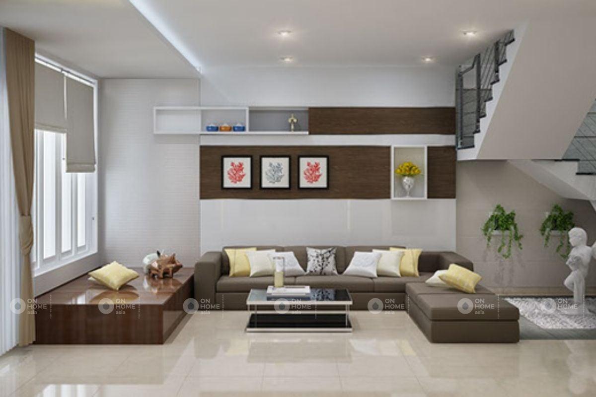 Không gian phòng khách hiện đại
