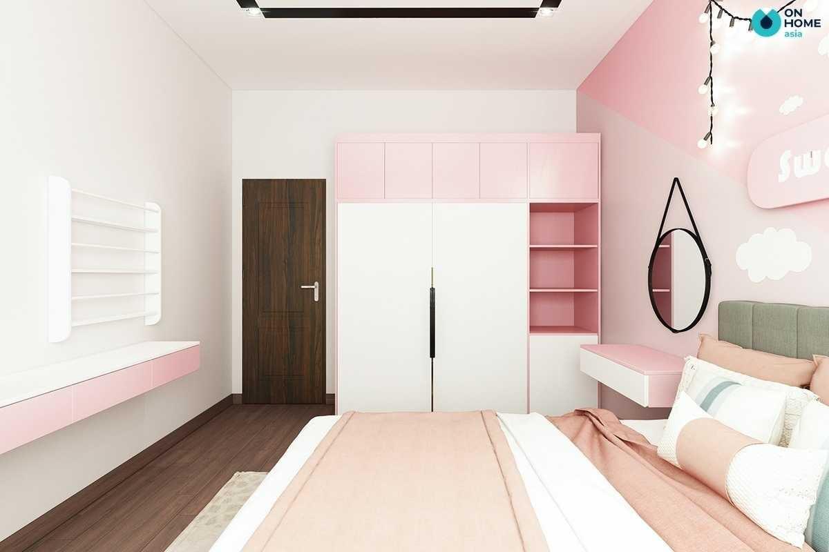 decor phòng ngủ cho bé gái