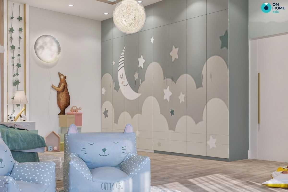Phòng ngủ trẻ em dễ thương