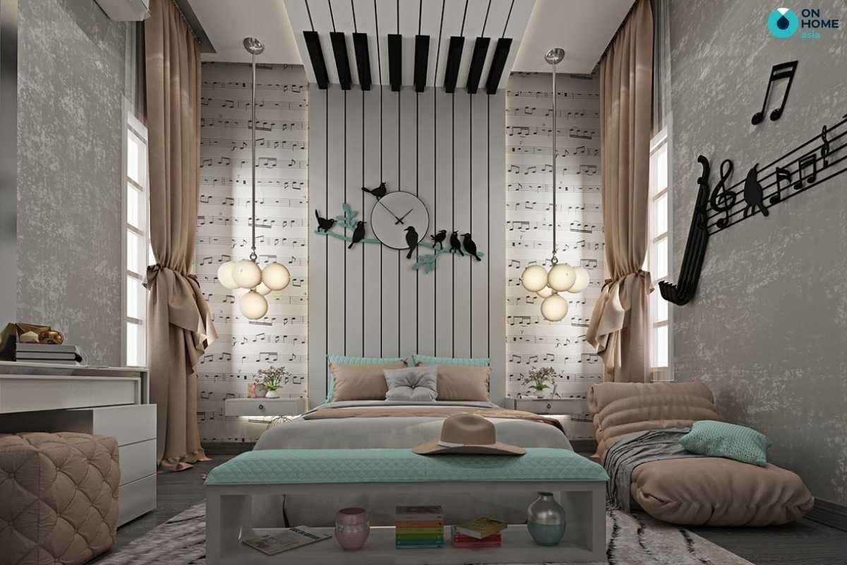 Thiết kế phòng ngủ trẻ em hiện đại
