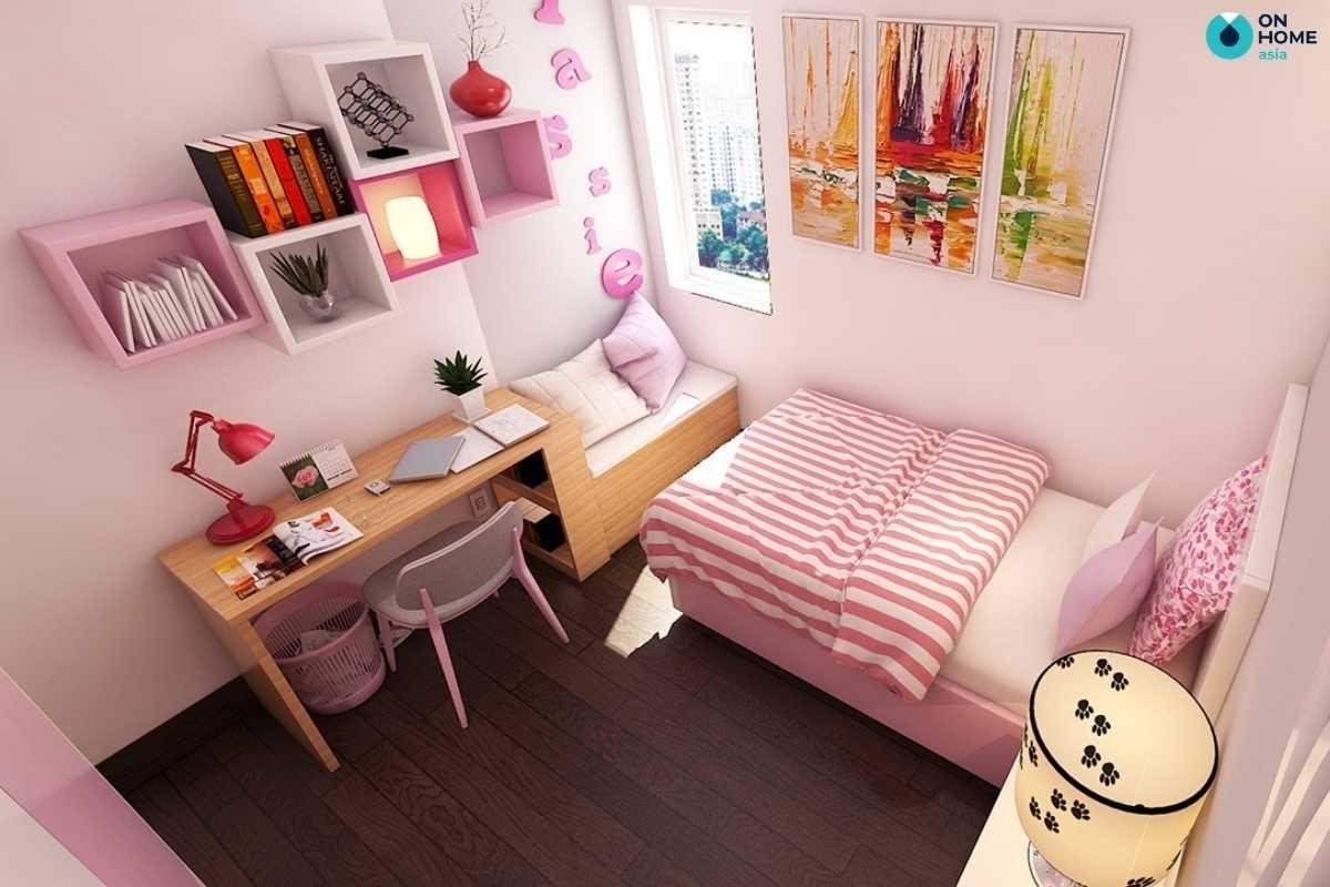Nội thất phòng ngủ trẻ em đơn giản hiện đại