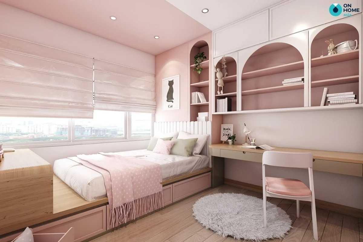 Nội thất phòng ngủ trẻ em đẹp mắt