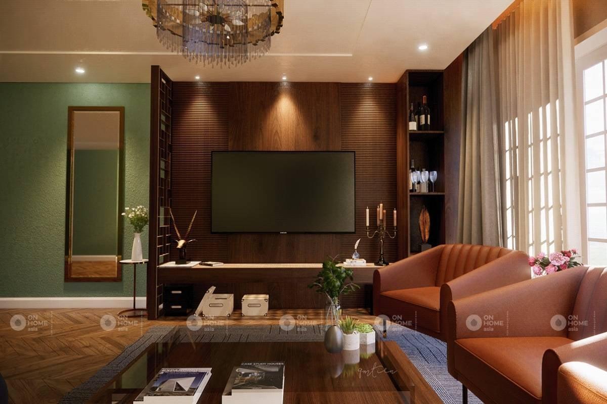 Cách bố trí nội thất phòng khách nhà ống đẹp