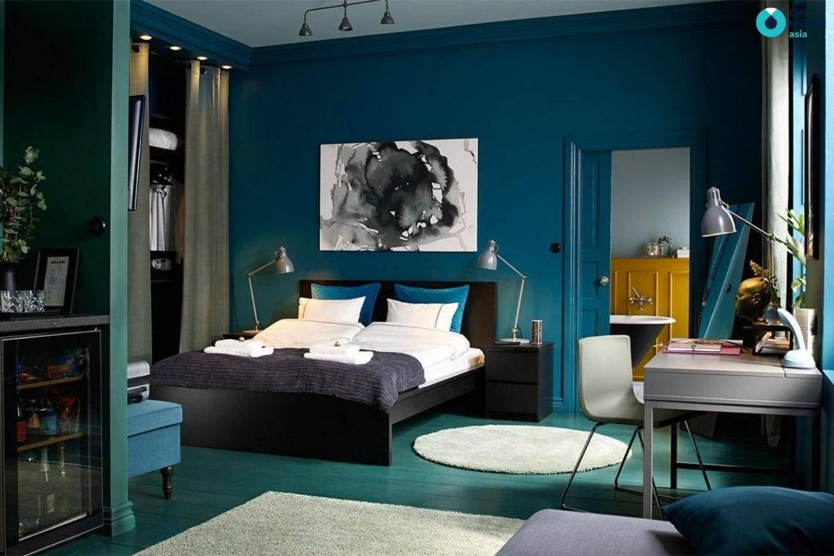 màu sơn phòng ngủ đẹp