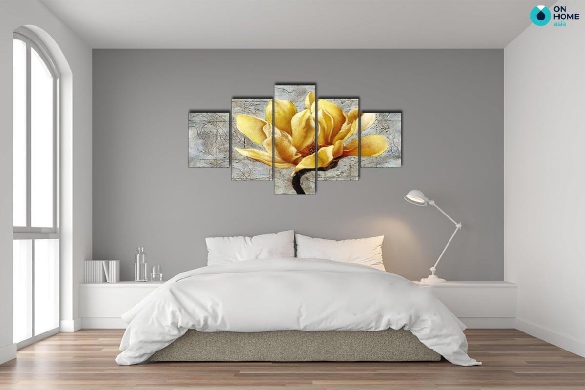 lựa chọn tranh treo tường phòng ngủ hợp phong thủy