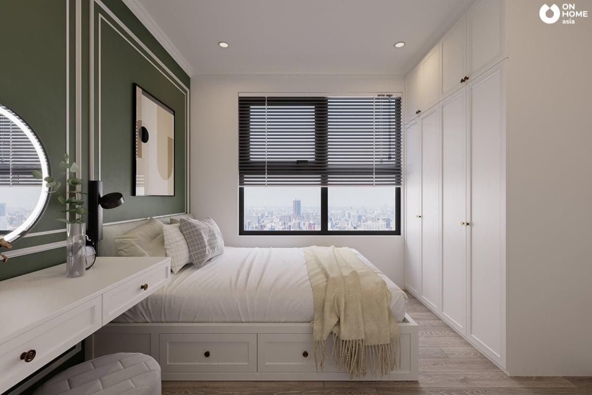 mẫu 1 phòng ngủ nhỏ