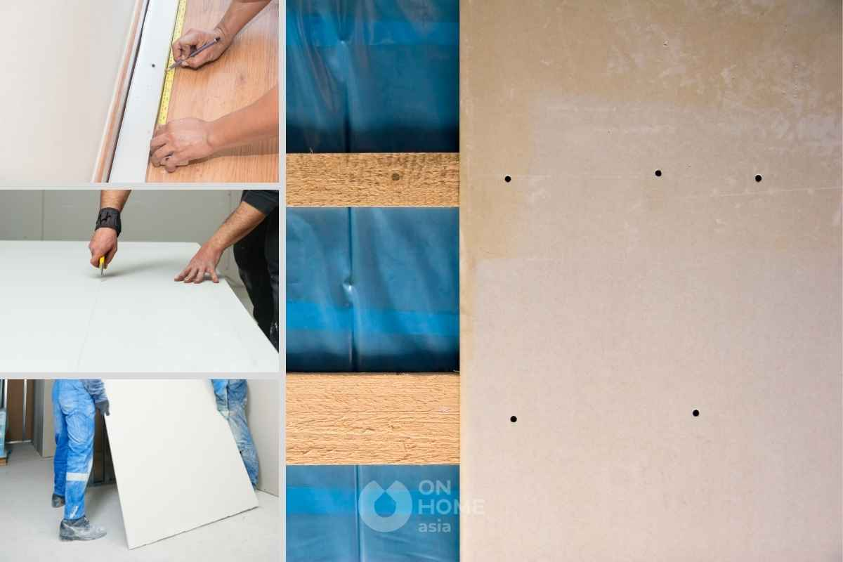 Sử dụng tấm thạch cao trong thiết kế nội thất