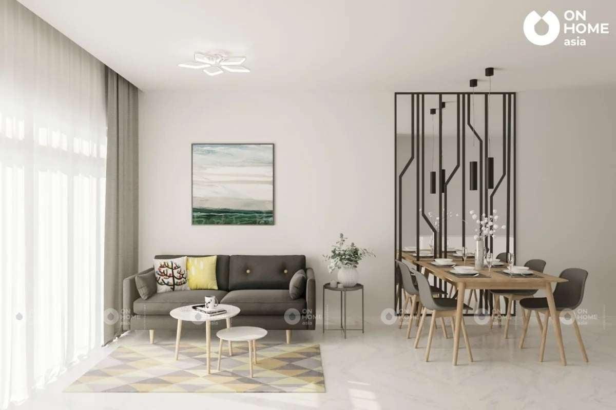 Thi công nội thất căn hộ chung cư The Habitat