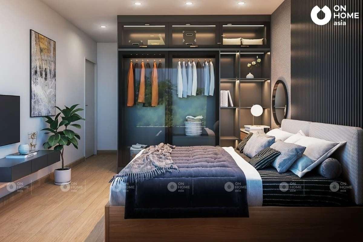 Một góc phòng ngủ master