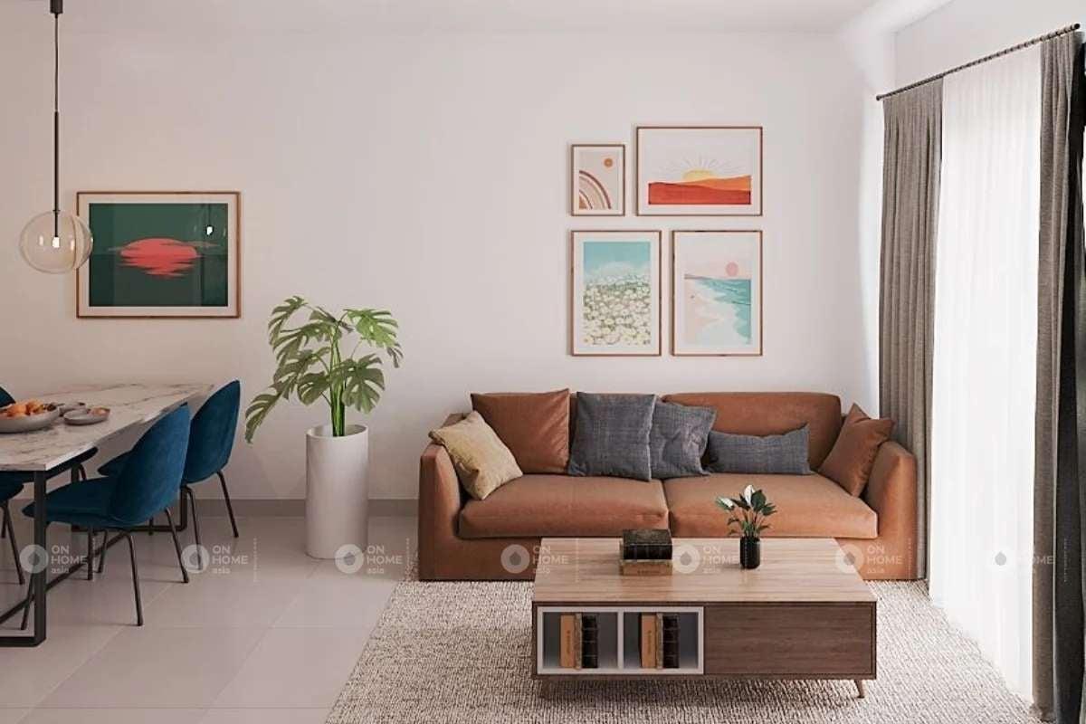 thi công nội thất căn hộ eco xuân