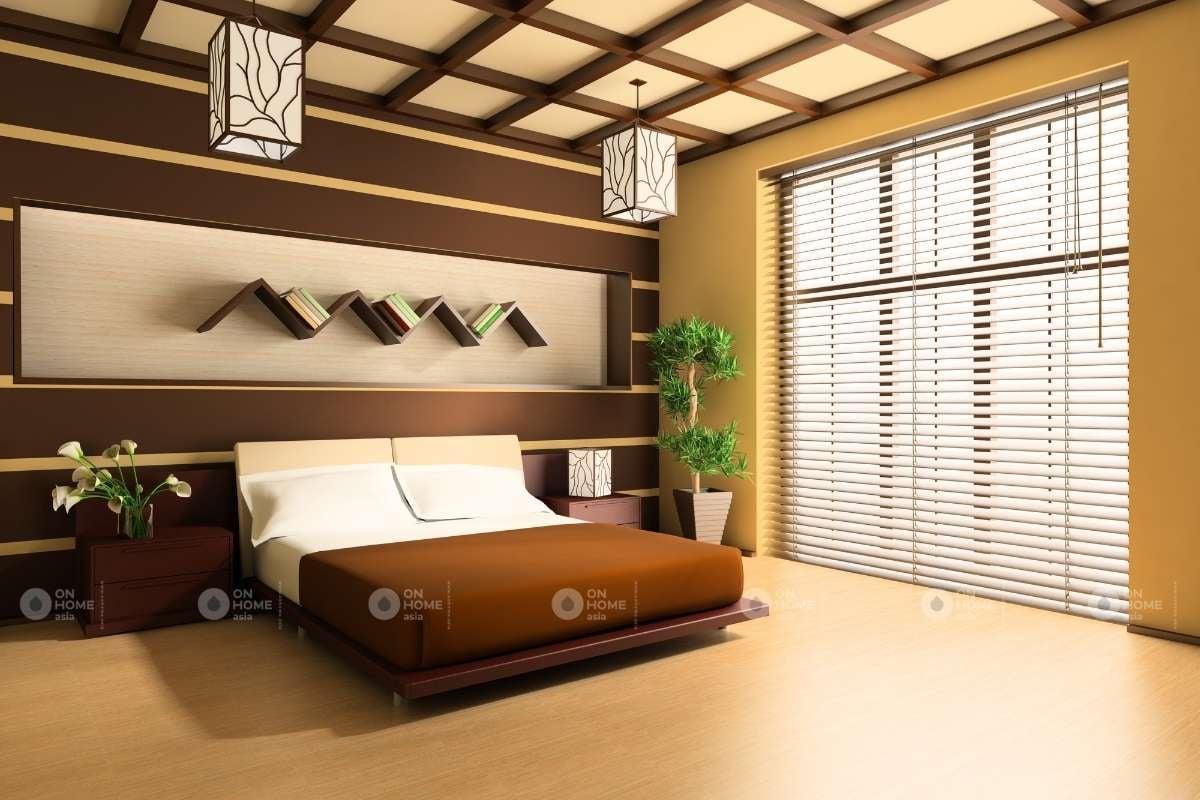 Bố trí cửa sổ phòng ngủ lớn đẹp