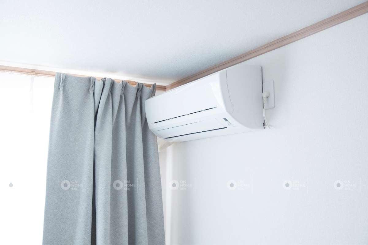 Bố trí máy lạnh phòng ngủ