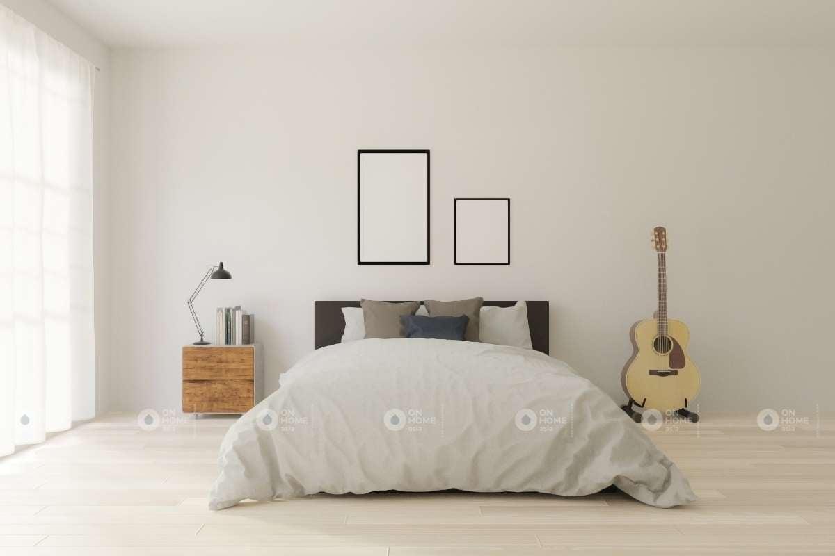 Không gian phòng ngủ tối giản
