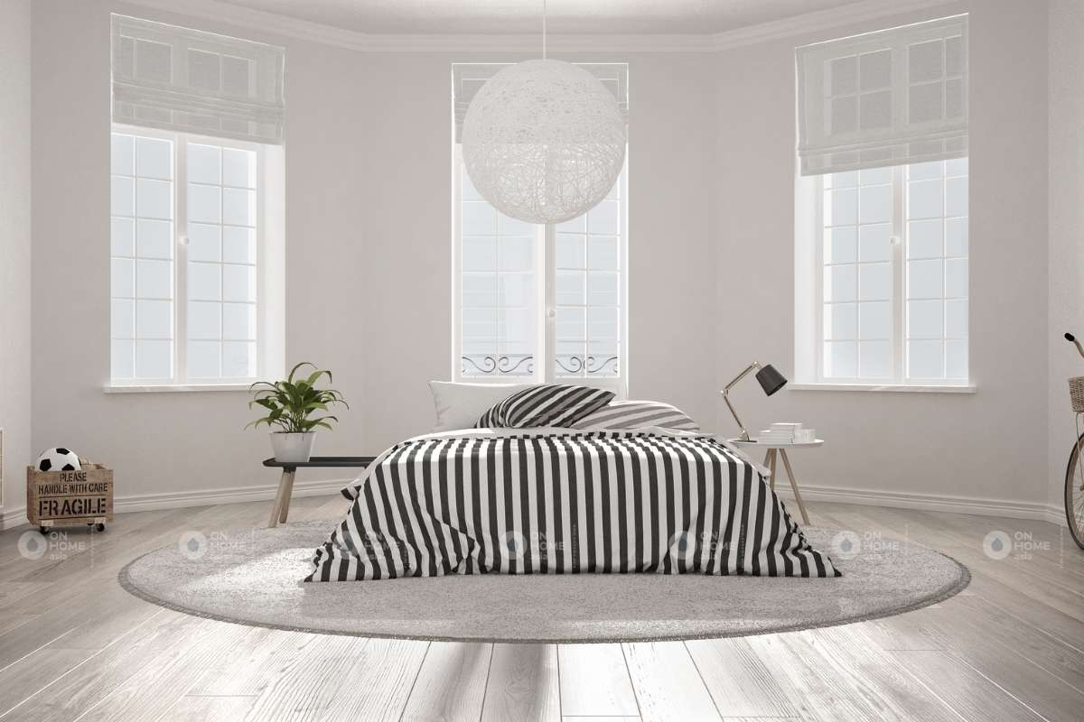 Nội thất phòng ngủ theo phong cách Bắc Âu
