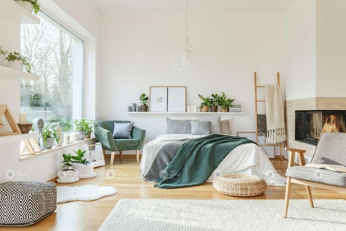 Trang trí các món đồ nội thất bên trong phòng ngủ