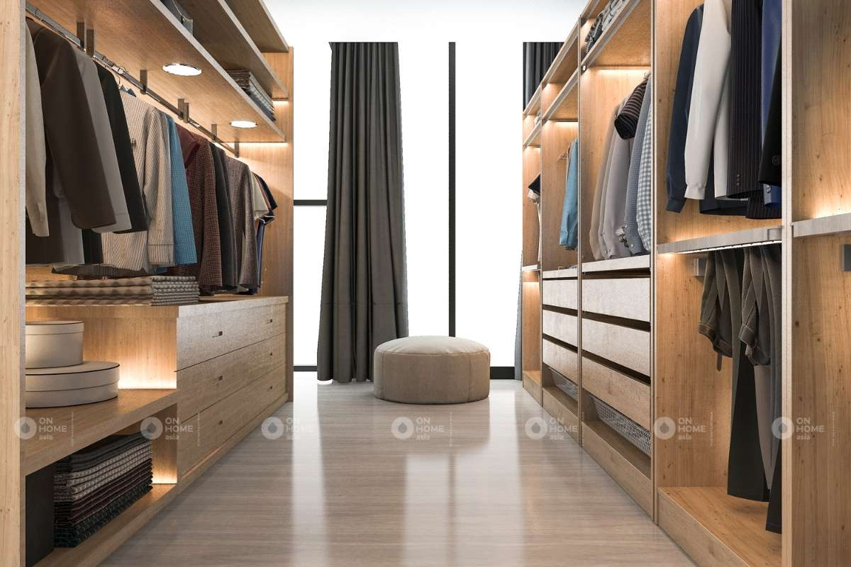 Tủ quần áo lớn cho phòng ngủ