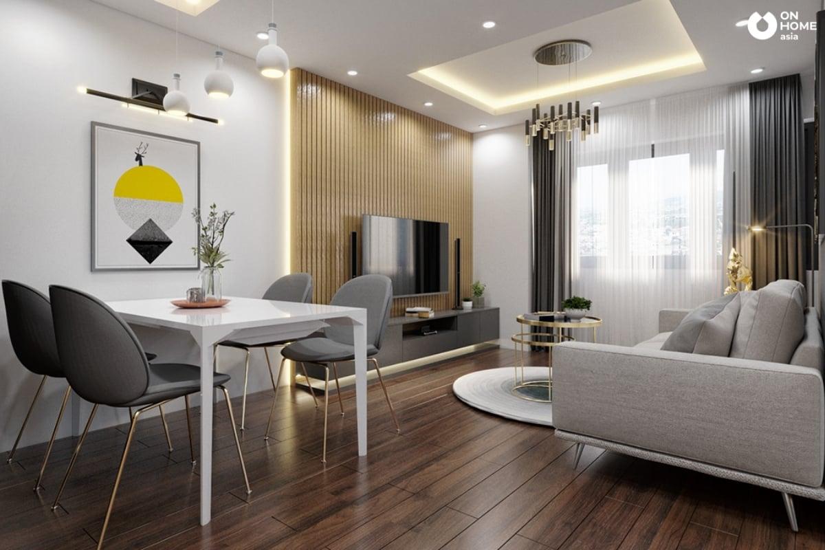 Phòng khách chung cư nhỏ