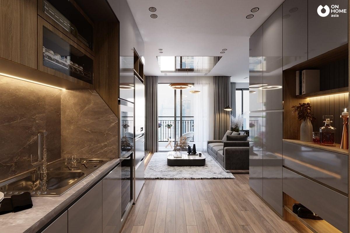 Mẫu nội thất có không gian đẹp