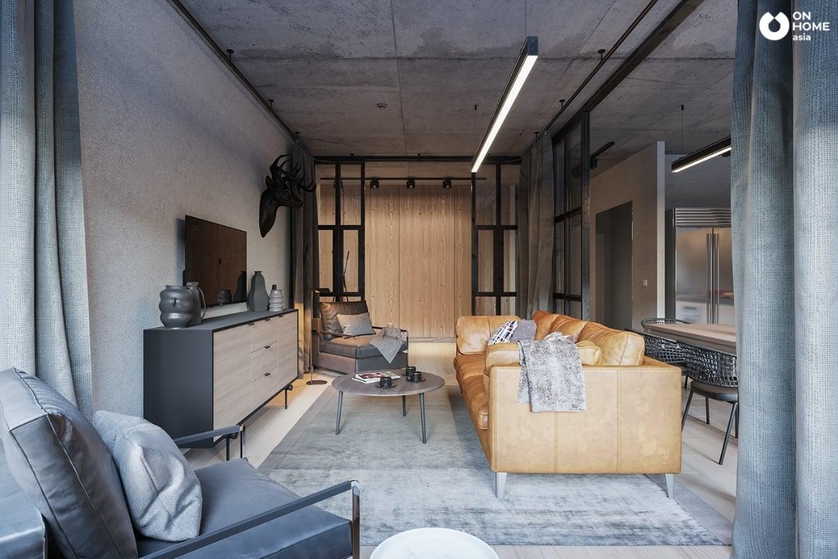 Nội thất căn hộ đẹp và ấn tượng