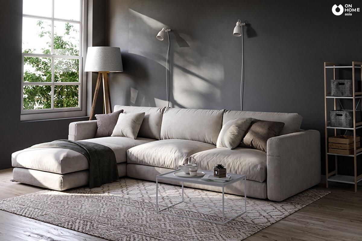 Trang trí nội thất sofa