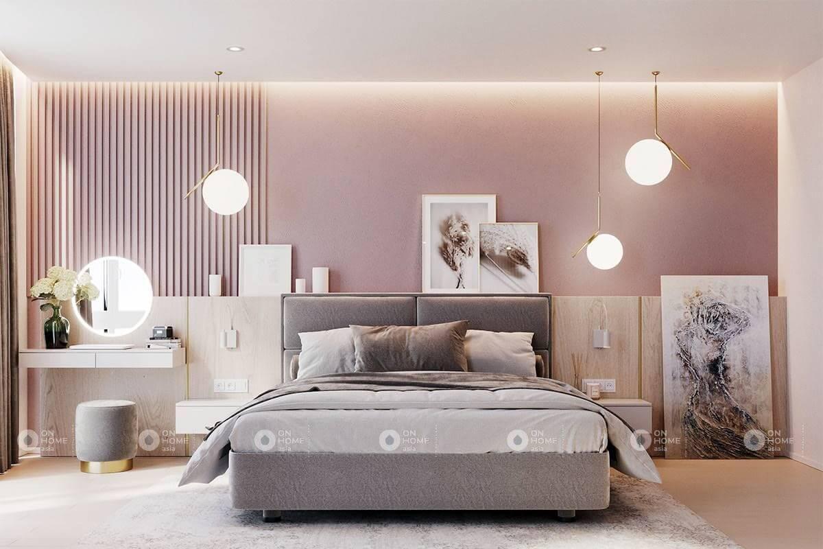 Bố trí phòng ngủ với đồ vật trang trí