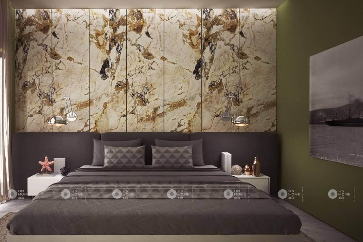 Gạch ốp tường phòng ngủ