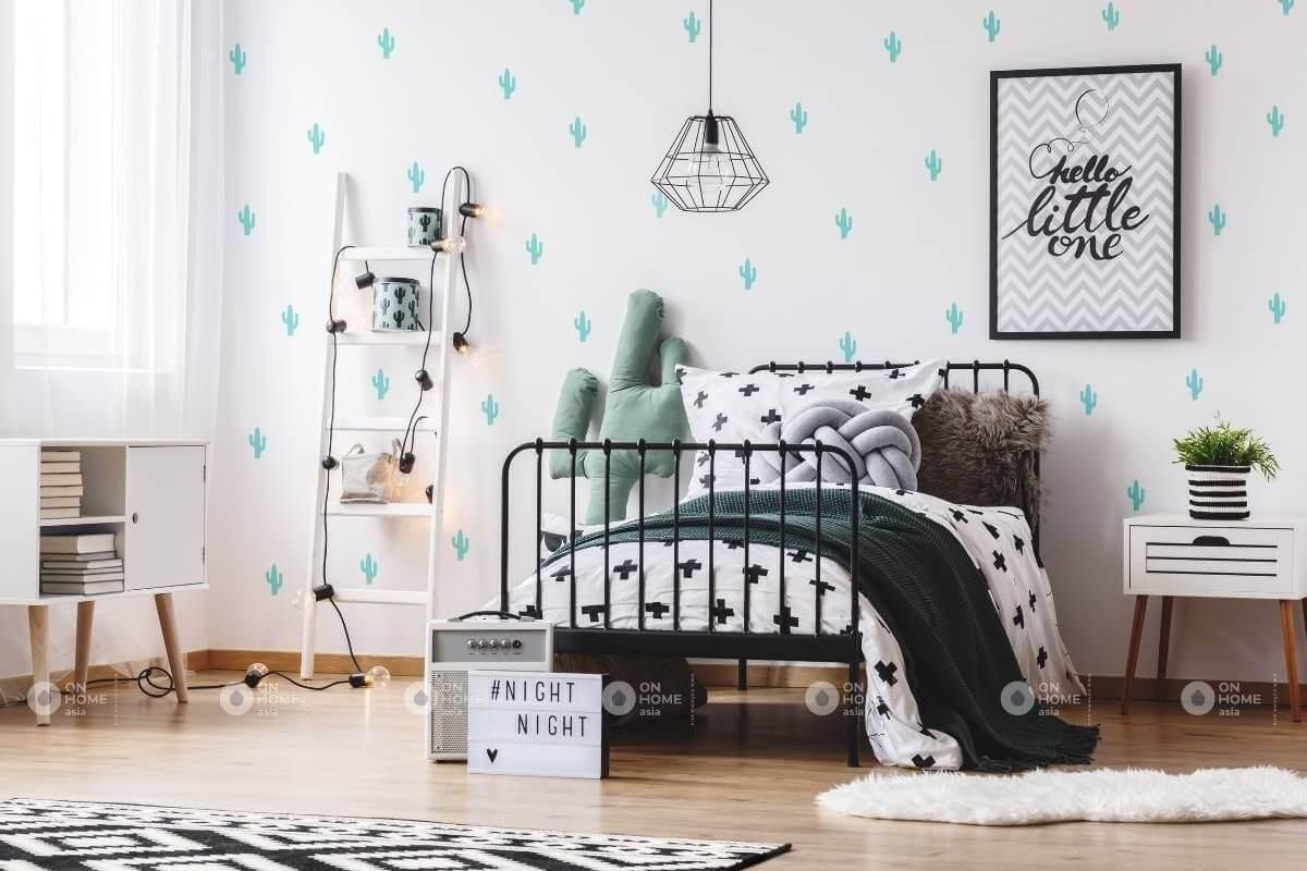 Giấy dán tường phòng ngủ tuyệt đẹp